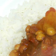 Potato and Chick Pea Curry